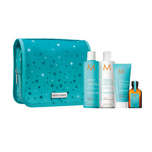 Moroccanoil Hydrating Shampoo, Conditioner, Mask, Oil Holiday Gift Set
