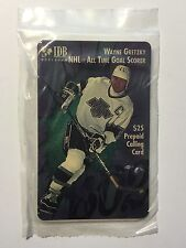 Wayne Gretzky NHL rare vintage factory sealed phonecard 1990s
