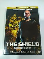 The Shield Segunda Temporada 2 Completa - 4 x DVD Español Ingles - 3T