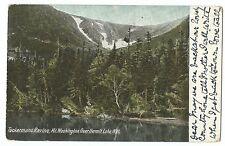 Tuckermans Ravine, Mount Washington, NH PPC, 1908 Chocorua PMK to GB