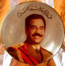 Iraq-Talayie Qadisisat Saddam Pin,Saddam Hussein 1980's Rare طلائع قادسية صدام
