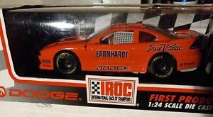 dale earnhardt sr. 1994 1/24 iroc #1 orange dodge avenger, darlington. rare...