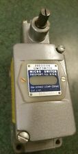 201LS501 Micro Switch precision limit switch 10A 120V 1/3HP (Used and Tested)