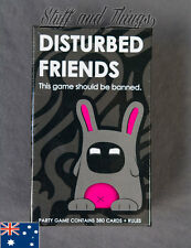 *GENUINE* Disturbed Friends - This Game Should Be Banned - Party Card Game