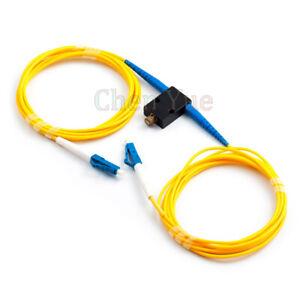Mechanical Variable Adustable Optical SM Simplex LC UPC Fiber Attenuator 0-60dB