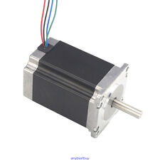 Free Ship 1pcs High Torque Nema 23 CNC Stepper Motor 425oz.in 4-Lead DIY CNC Kit
