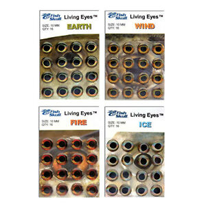 Fish Skull Living Eyes Fly Tying Materials - All Varieties