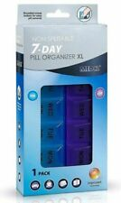MEDca Weekly Pill Organizer Twice-a-day 1 Extra Large