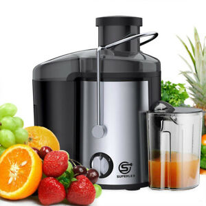 SUPERLEX Powerful Electric Juicer Machine Juice Maker Whole Fruit Vegetables