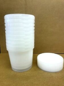Plastic Storage Containers 100 x 1ltr Tamper Evident