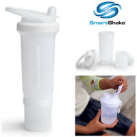 Smart Shake Protein Bottle Mixer Shaker Cup SmartShake Revive Junior White 300ml