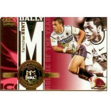 2005 Select NRL Power Honour Roll HR2 Karmichael Hunt Rookie of the Year