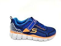 New! Boy's SKECHERS EQUALIZER 2.0 - FINAL CHALLENGE 97383L Blue/Orange 180J sm