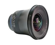 Ex-Demo Zeiss 15mm f2.8 Milvus Wide Angle SLR Lens Canon ZE Fit
