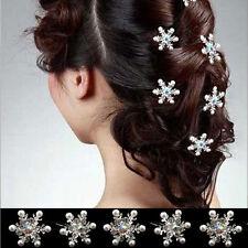 5*Accessoires pour cheveux femmes fête mariage crystal décor sexy joli confience
