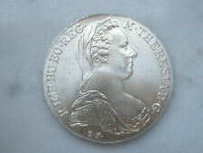 Très beau thaler 1780 Marie thérèse Autriche argent 28,06 grammes