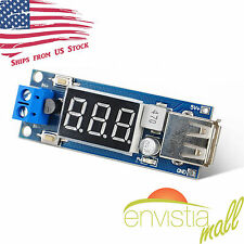 2 in 1 4.5V-40V Voltmeter & 5V USB Charger Step-Down Buck Power Converter Module