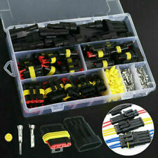 352PCS 1/2/3/4Pin Car Waterproof Male Female Electrical Connector Plug Wire Set