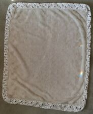 New listing Dog Bed Cover/Duvet Extra Large Beige Sherpa with Dark Brown, Zipper closure
