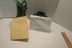 Hampshire Pottery.1905 factory sales catalog reprint w/ envelope Grueby interest