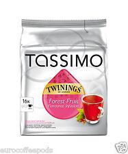 Tassimo Twinings Fruit Of Forest Tea 2 Packs 32 T-Discs