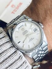 Tudor Full Set Rolex Prince Day Date Dial Mens 34mm paper steel President watch
