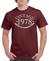 21st 30th 40th 50th 60th 70th 80th Funny Birthday Gift T-Shirt Vintage Old Style