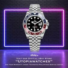 "Rolex ""PEPSI"" GMT Master II 2019 Bnew full stickers"
