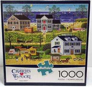 Charles Wysocki Gulls Nest 1000 Piece Jigsaw Puzzle by Buffalo Games 2019