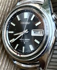 Vintage SEIKO Bell-Matic 27 JEWELS Automatic 4006-7020 Stainless Steel WATCH