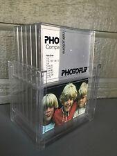 Vintage PhotoFlip Clear Plastic Photograph Display Stand Frame 1976 Unused Photo