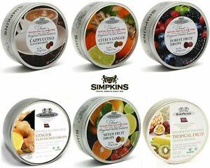 Simpkins SUGAR FREE Travel Sweets 175g Tin - diabetics - SALE 3 for £9.78
