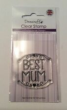 Best Mum (2) Clear Stamp - Dovecraft