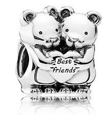 Brand New Genuine Silver Pandora Best Buddies Friends Charm 792151 RRP £30