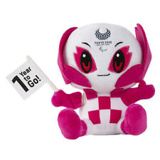 Tokyo Olympic Games 2020 Mascot SOMEITY 1 Year to Go! Plush Flag Action Japan