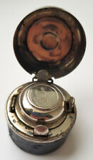 Antique navy traveling inkwell