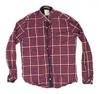 Town Team Red Check Cotton Mens Casual Shirt Size 3XL