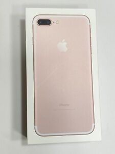 iPhone EMPTY BOX 7 Plus Rose Gold  128GB BOX ONLY NO PHONE 2016
