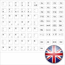 keystick Clavier anglais Royaume-Uni USA Anglais blanc Macintosh WHITE APPLE
