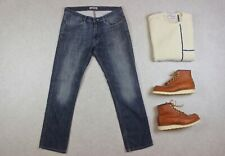 Acne Studios - Max New Shaved Jeans - Blue - 34/32