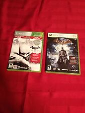 Batman Arkham Asylum & City- Xbox 360 L@@k