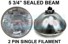 "5 3/4"" GENUINE SEALED BEAM INNER HEADLIGHT HEADLAMP UNIT FOR CLASSIC CARS SB5712"
