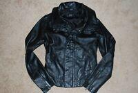 Women's NIXON Motorcycle Biker Leather Jacket (Small) $279