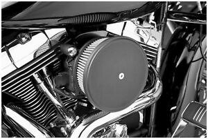 Arlen Ness 18-771 Stage II Steel Air Filter Cover Black