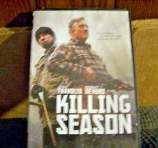 KILLING SEASON DVD REVENGE HAS NO RULES JOHN TRAVOLTA ROBERT DE NIRO FREE SHIP
