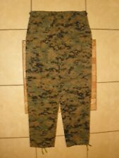 Mens TRU-SPEC Marpat Digital CAMO Military CARGO BDU Pants Large Long 36 X 34