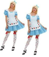 Sexy Alice Costume Deck of Cards Girl Womens Ladies Fancy Dress Outfit New