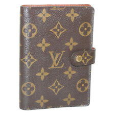 LOUIS VUITTON Monogram Agenda PM Day Planner Cover R20005 LV Auth yk005