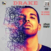 Drake #NO8TO12TV (new)..75 official music video feat Drake on 3 DVDs Hip Hop Rap