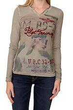 Figurbetonte hüftlange Damenblusen, - tops & -shirts mit eckigem Ausschnitt